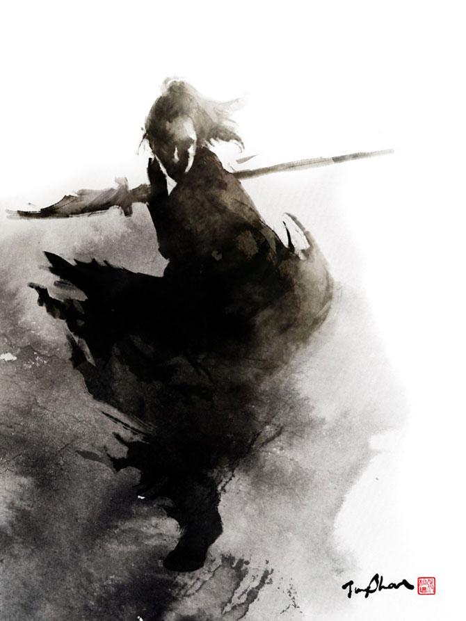 Samurai de cerneala din Taiwan, de Jungshan