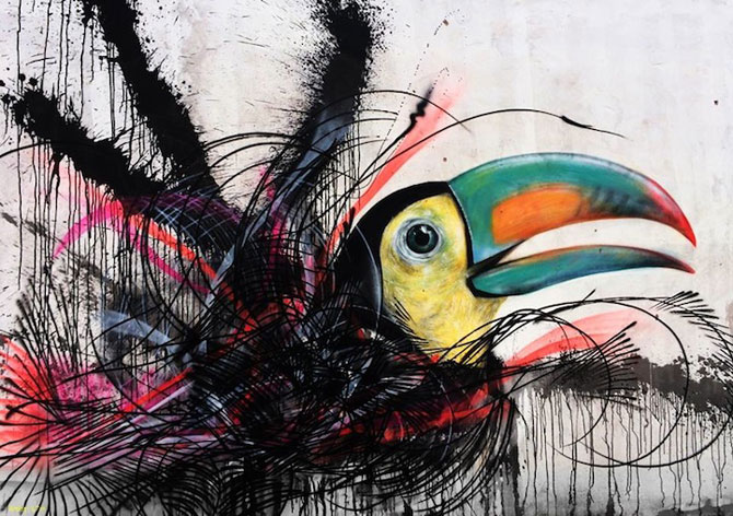 Graffiti minunate cu pasari, de L7m - Poza 2