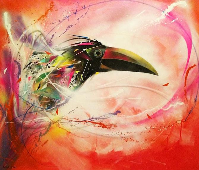 Graffiti minunate cu pasari, de L7m - Poza 4