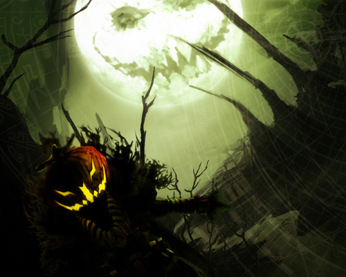 Buhuhu: Wallpaper-e de Halloween - Poza 5