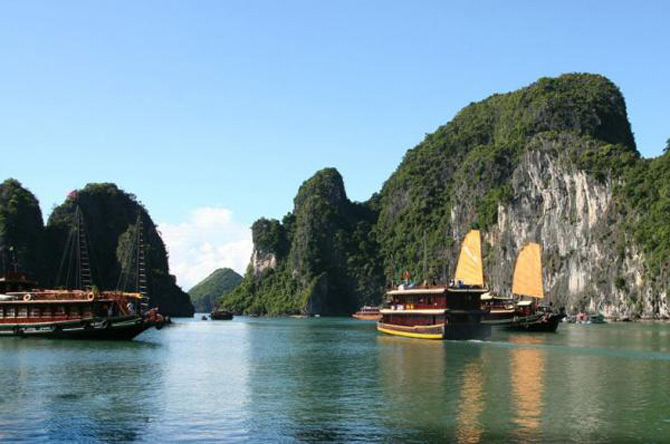Croaziera prin Ha Long Bay, Vietnam - Poza 8