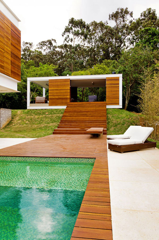Intimitatea interioarelor deschise: Casa Haack, Brazilia