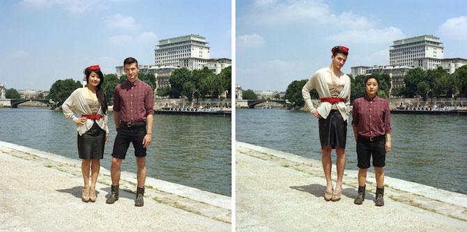 Cand cuplurile fac schimb de haine - Poza 1