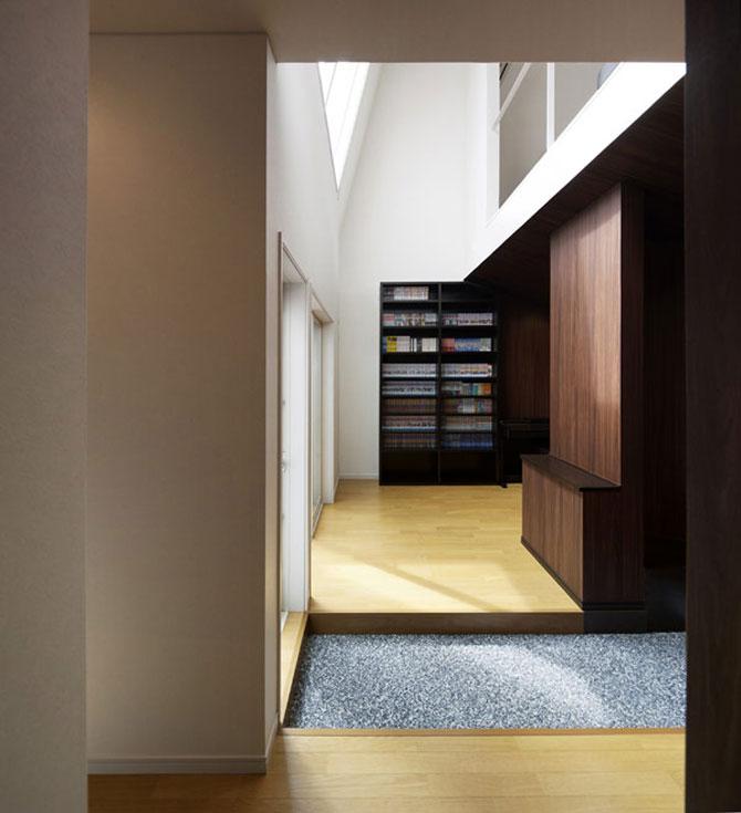Casa-oglinda de la Tokyo: Hansha Reflection House