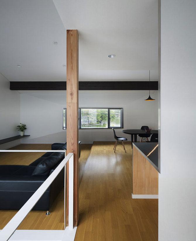 Casa-oglinda de la Tokyo: Hansha Reflection House - Poza 11