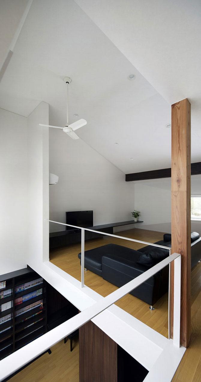 Casa-oglinda de la Tokyo: Hansha Reflection House - Poza 12