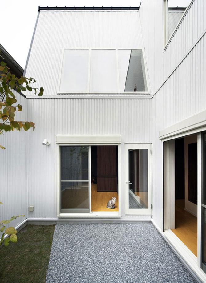 Casa-oglinda de la Tokyo: Hansha Reflection House - Poza 15