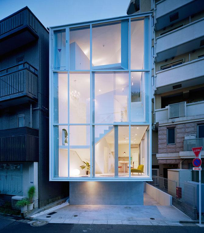 Casa in spirala, la Tokyo - Poza 1