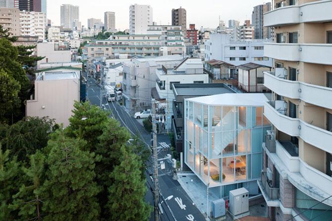 Casa in spirala, la Tokyo - Poza 3