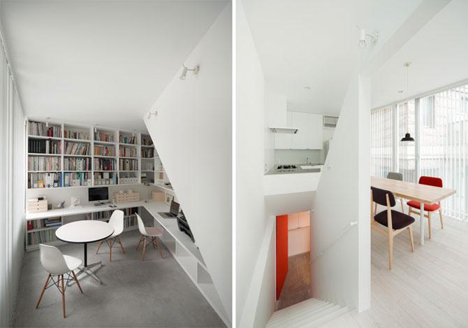 Casa in spirala, la Tokyo - Poza 4