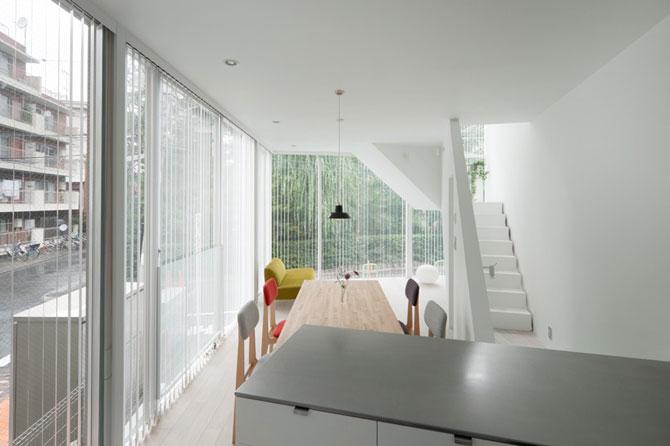 Casa in spirala, la Tokyo - Poza 7