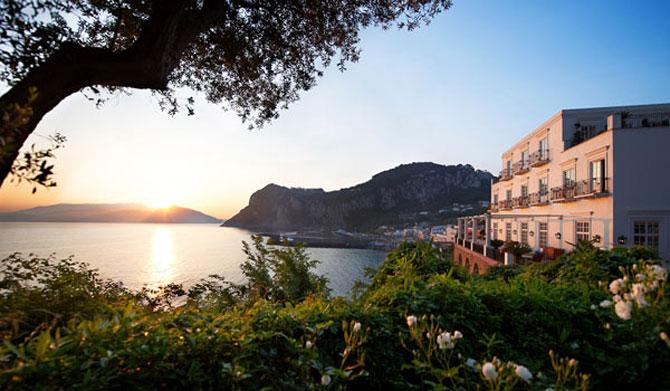 La JK Hotel, pe insula Capri, e mereu vara - Poza 1