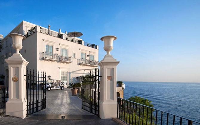 La JK Hotel, pe insula Capri, e mereu vara - Poza 2