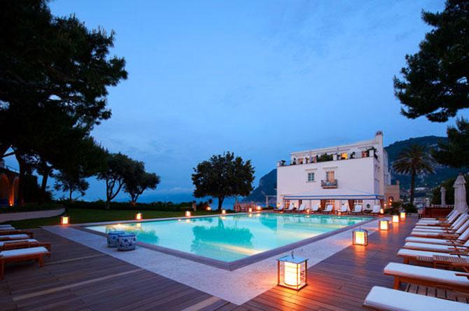 La JK Hotel, pe insula Capri, e mereu vara - Poza 15