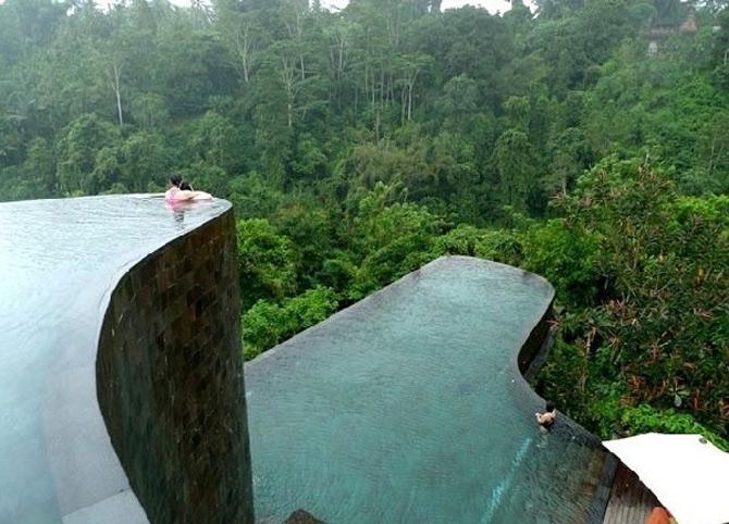 Gradini acvatice suspendate in Bali - Poza 1