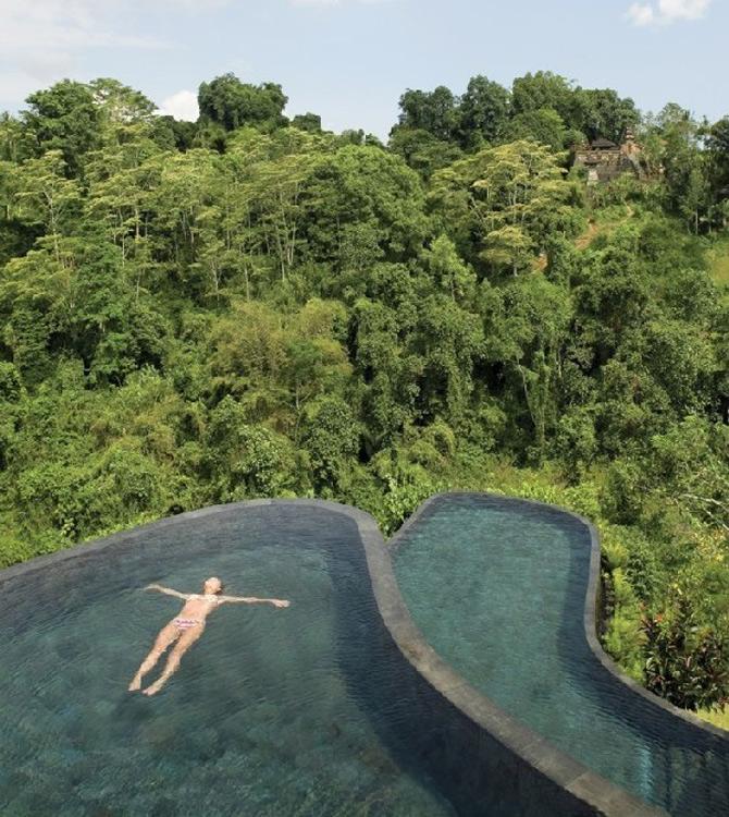Gradini acvatice suspendate in Bali - Poza 2