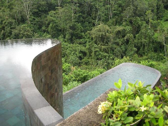 Gradini acvatice suspendate in Bali - Poza 3