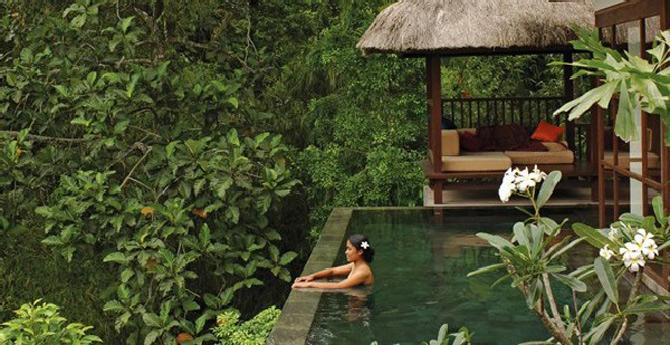 Gradini acvatice suspendate in Bali - Poza 6