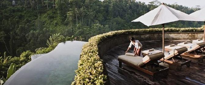 Gradini acvatice suspendate in Bali - Poza 7