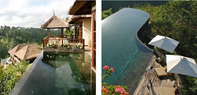Gradini acvatice suspendate in Bali - Poza 9