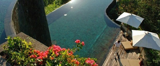 Gradini acvatice suspendate in Bali - Poza 11