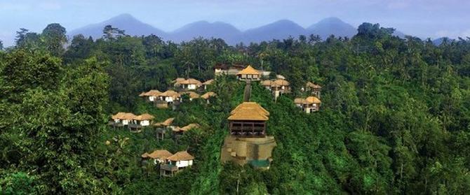 Gradini acvatice suspendate in Bali - Poza 20