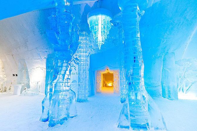 Hotel de gheata inspirat de Jules Verne in Canada - Poza 1