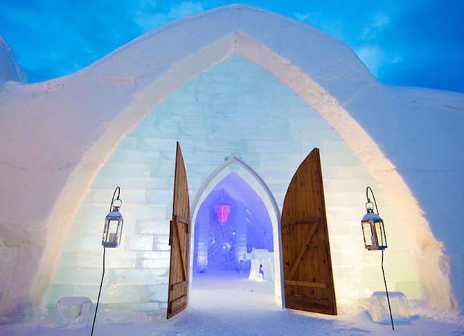 Hotel de gheata inspirat de Jules Verne in Canada - Poza 2