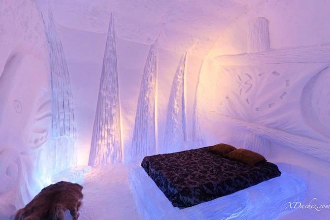 Hotel de gheata inspirat de Jules Verne in Canada - Poza 4