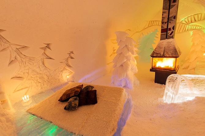 Hotel de gheata inspirat de Jules Verne in Canada - Poza 5
