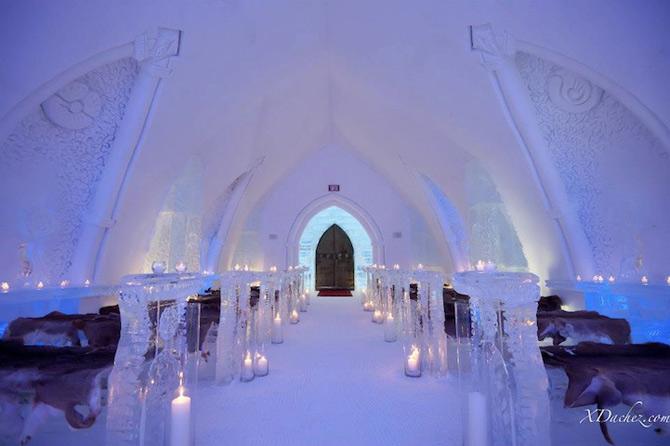 Hotel de gheata inspirat de Jules Verne in Canada - Poza 7