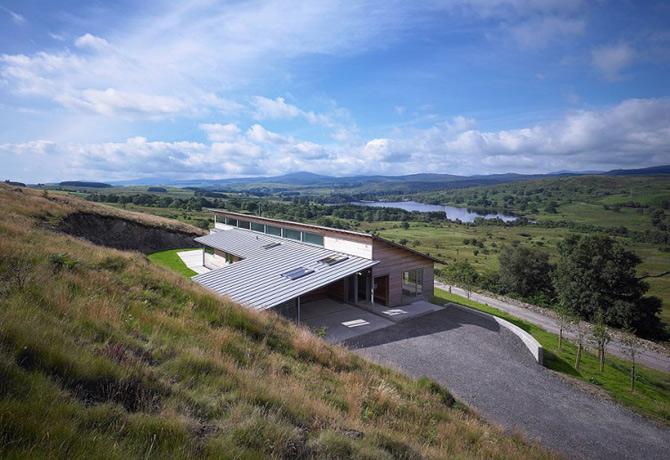 Subtilitate in peisaj: Houl Residence, Irlanda - Poza 1