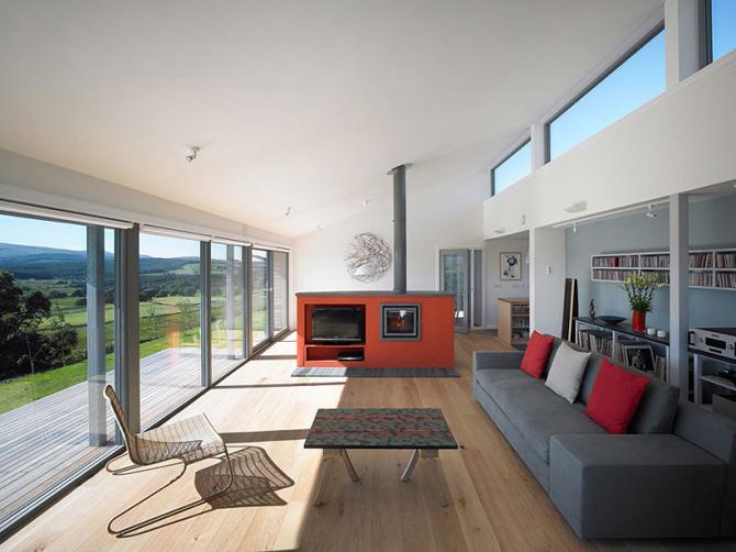 Subtilitate in peisaj: Houl Residence, Irlanda - Poza 15