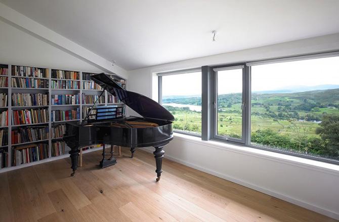 Subtilitate in peisaj: Houl Residence, Irlanda