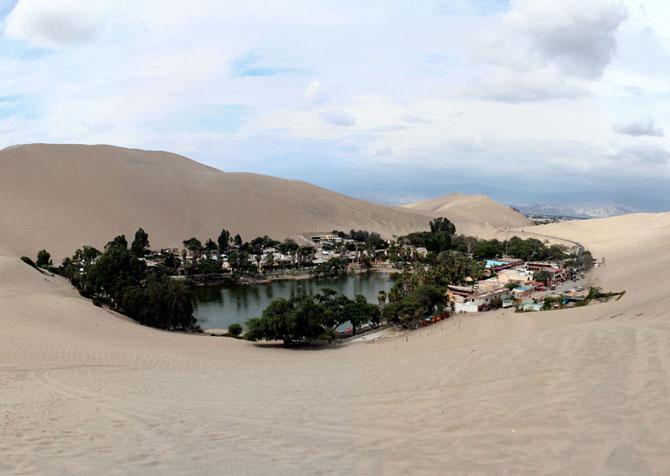 Oaza din Peru: Satul Huacachina - Poza 9