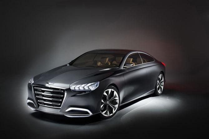 Un Hyundai de lux la Detroit - Poza 1