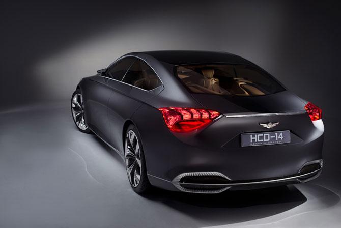 Un Hyundai de lux la Detroit - Poza 2