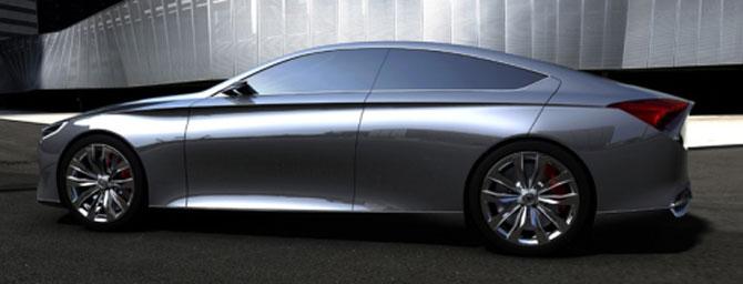 Un Hyundai de lux la Detroit - Poza 5