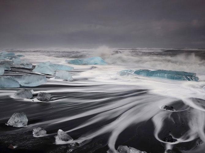 Ghetarii albastri din Islanda - Poza 1