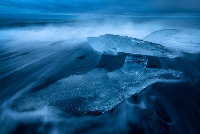 Ghetarii albastri din Islanda - Poza 6