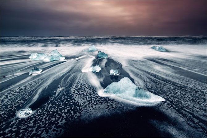 Ghetarii albastri din Islanda - Poza 8