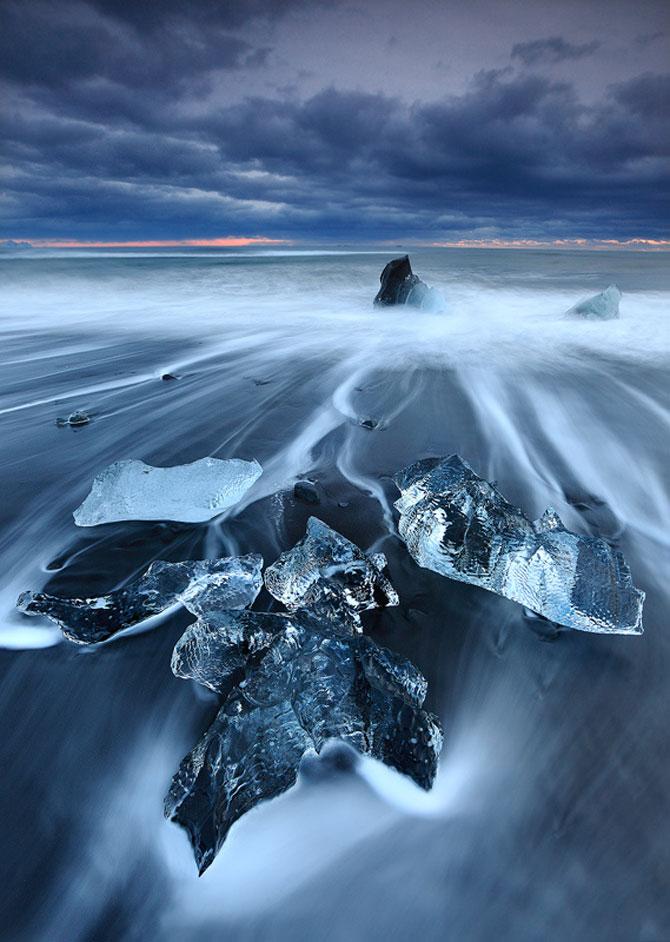 Ghetarii albastri din Islanda - Poza 10