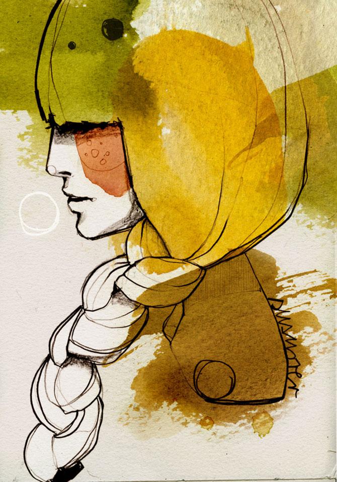 Rusoaica berlineza si femeile lui Schiele, Mucha si Klimt - Poza 1