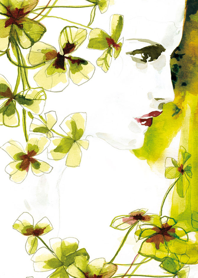 Rusoaica berlineza si femeile lui Schiele, Mucha si Klimt - Poza 4