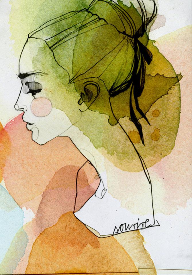 Rusoaica berlineza si femeile lui Schiele, Mucha si Klimt - Poza 7