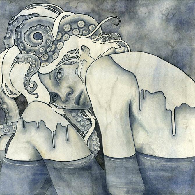 Kelly McKernan isi deseneaza varstele - Poza 8