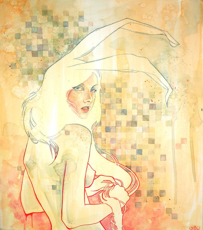 Kelly McKernan isi deseneaza varstele - Poza 11
