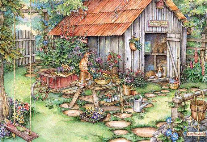 Lumea plina de flori si animale a lui Kim Jacobs - Poza 3