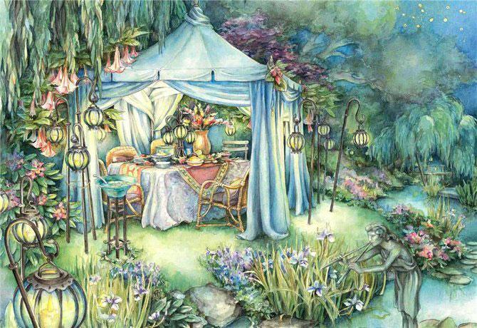 Lumea plina de flori si animale a lui Kim Jacobs - Poza 5