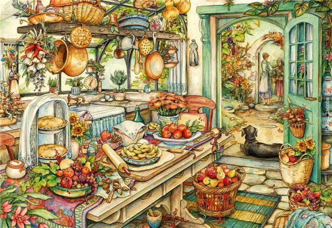 Lumea plina de flori si animale a lui Kim Jacobs - Poza 6